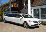 White Stretch Limos for Weddings
